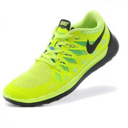 Nike free run 5.0 салатовый